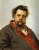 Портрет композитора М. Мусоргского (И.Е. Репин)