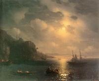 Золотой рог. Босфор (И.К. Айвазовский, 1872 г.)