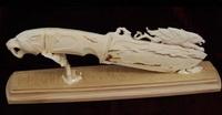 Декоративный нож (тобольская резная кость)
